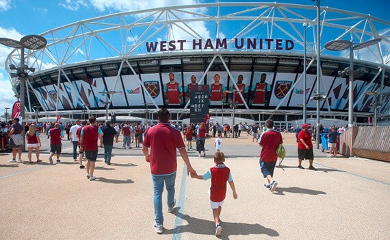 West Ham FC Stadium Store